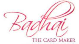 Badhai Cards